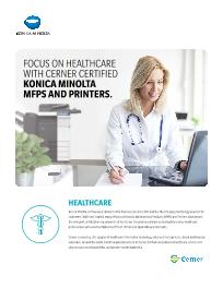 Ambulatory care solutions services konica minolta thumbnail image for konicaminoltacernercert09152016pdf xflitez Images